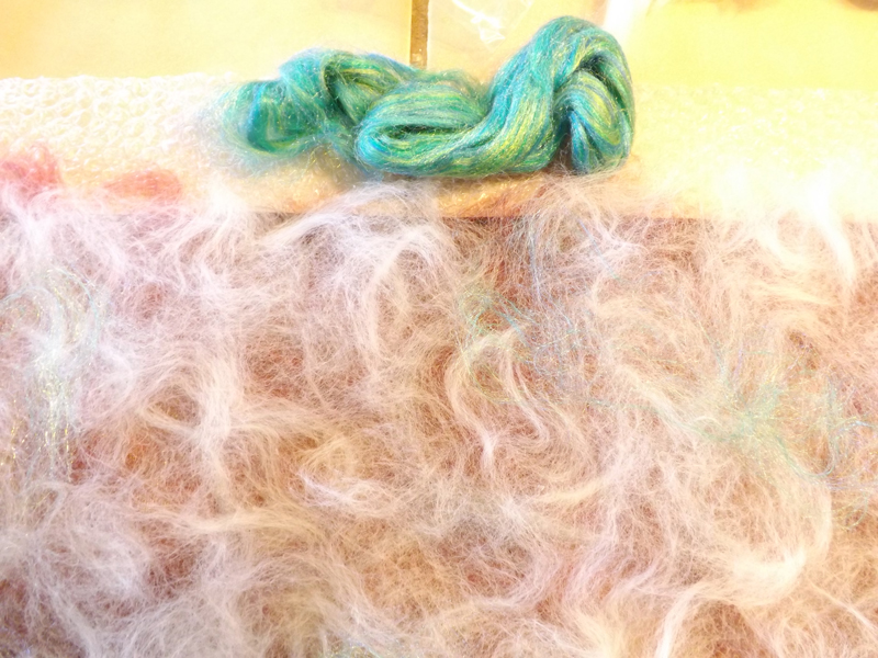 Picture of Laying Out the Fibers
