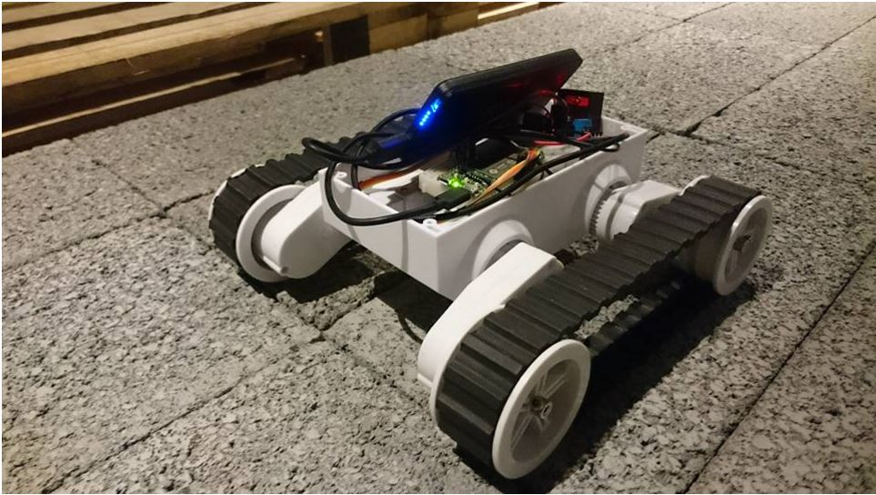 Picture of Build a Remote Control Tank on Cloud Using LinkIt 7688