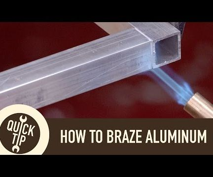 """How to """"Weld"""" Aluminum Without a Welder"""