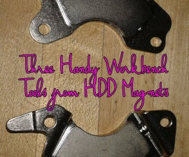 Three Handy Workbench Tools from HDD Magnets