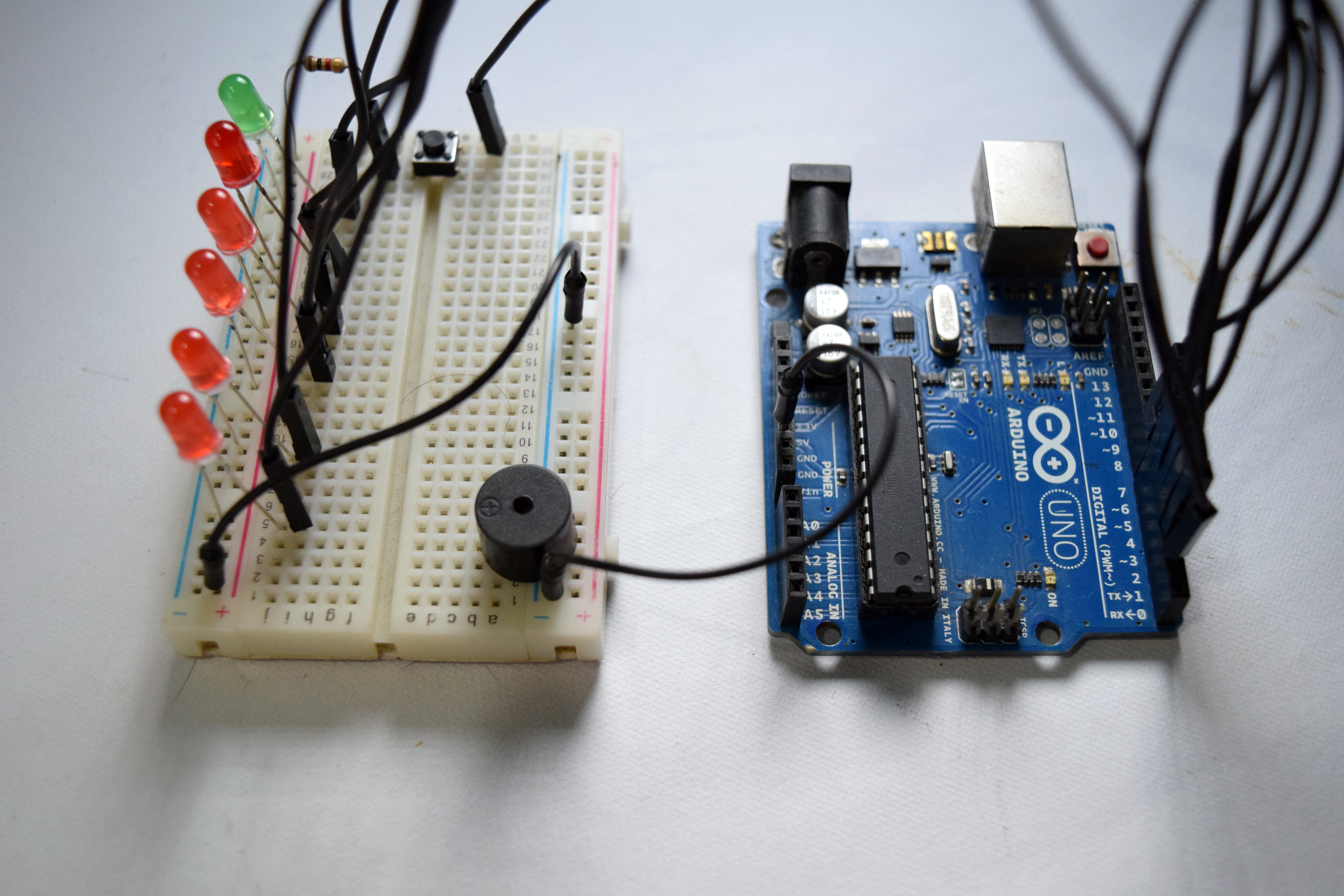 Picture of Kitchen Timer Using an Arduino