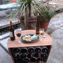 Wine Barrel Rack