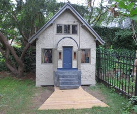 How to Build a Garden Shed...That's a 1/4 Scale Miniature of Your House