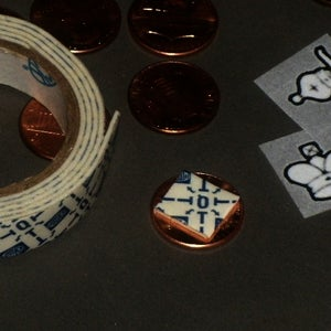 Making the Penny Chess Men