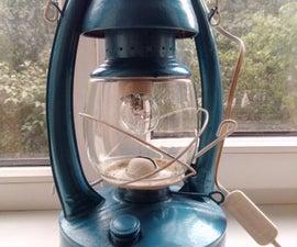 Restoring Old Oil Lamp
