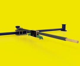 One Arm Printing Unit