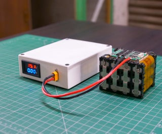 DIY Lithium Battery Charger