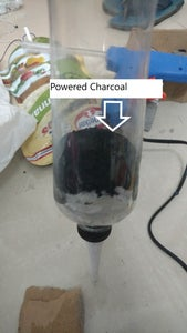 Building the Charcoal Water + ALUM Filter