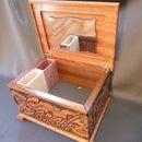Sapele Wood Makeup Box