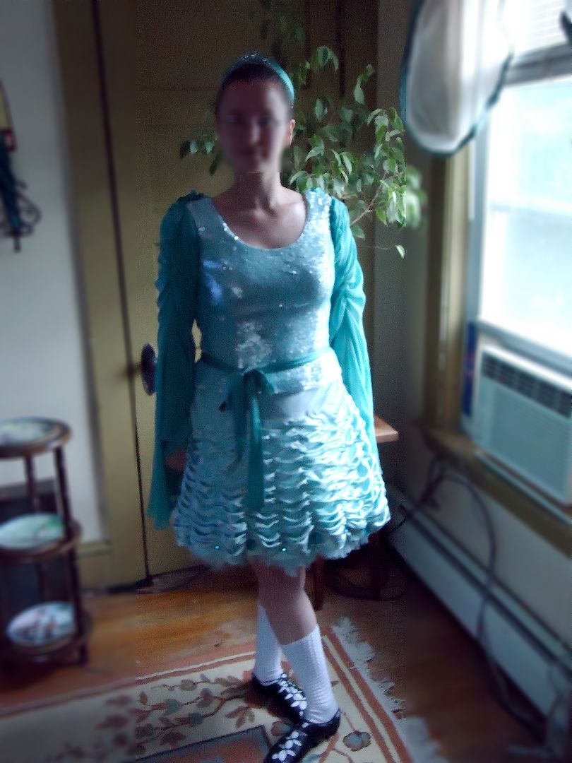 Picture of How to Make an Irish Dancing Dress in Under a Week for Less Than $100.