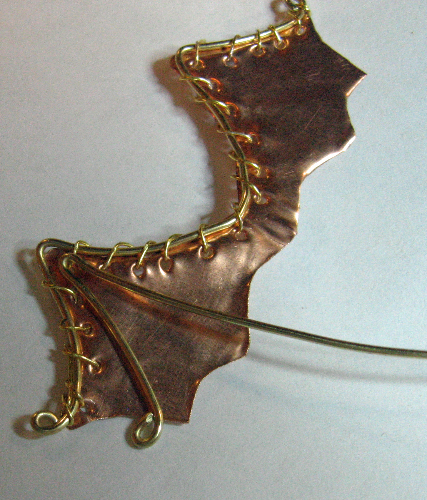 Picture of Attach Wing Ribs With Fine Wire
