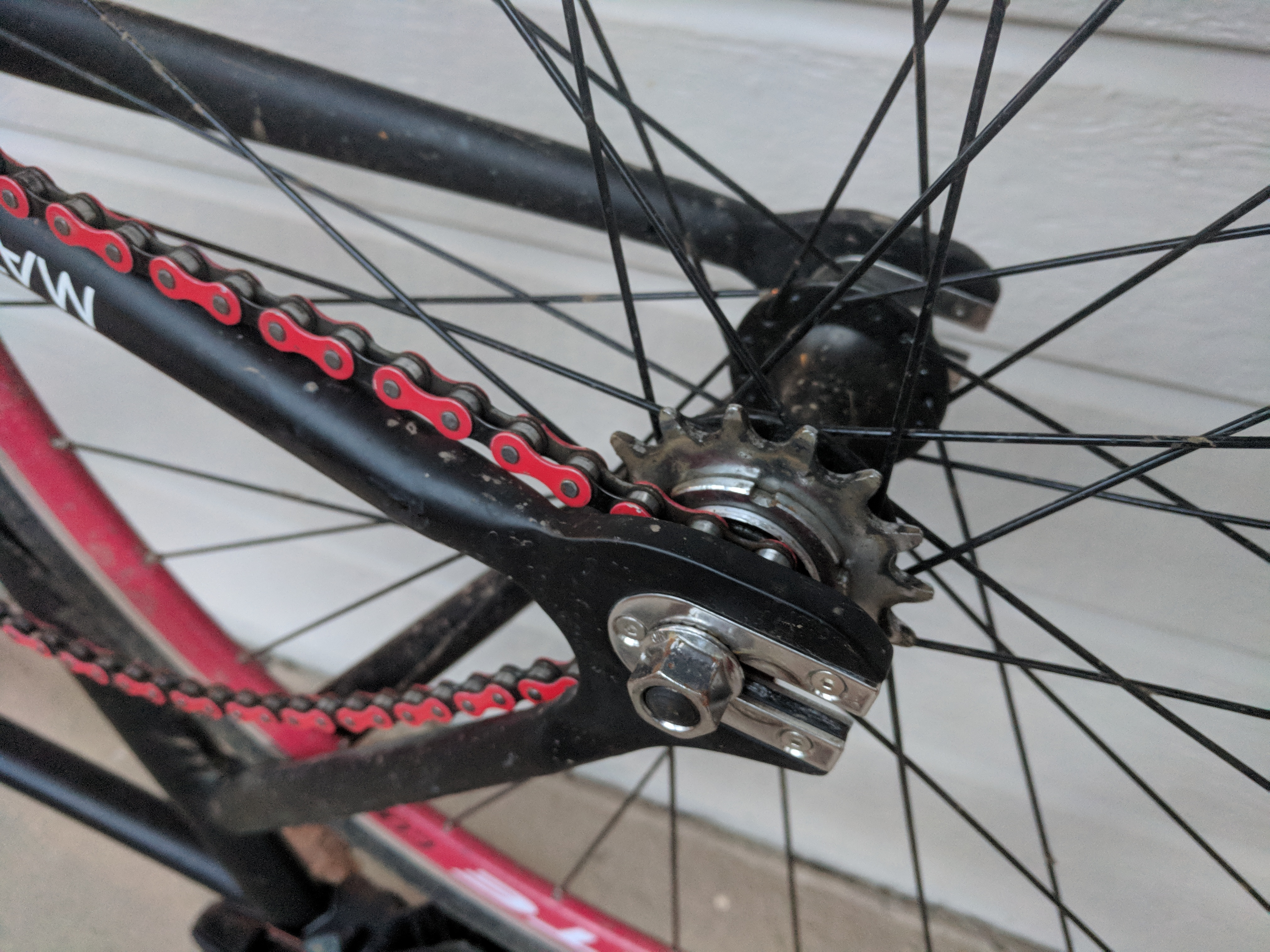 Picture of Remove the Back Wheel