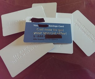 Plastic Card Reuses