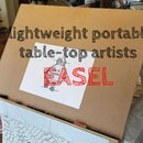 Lightweight Portable Table-Top Artists Easel