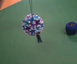 How To Fold A Japanese Paper Ball (Kusudama)