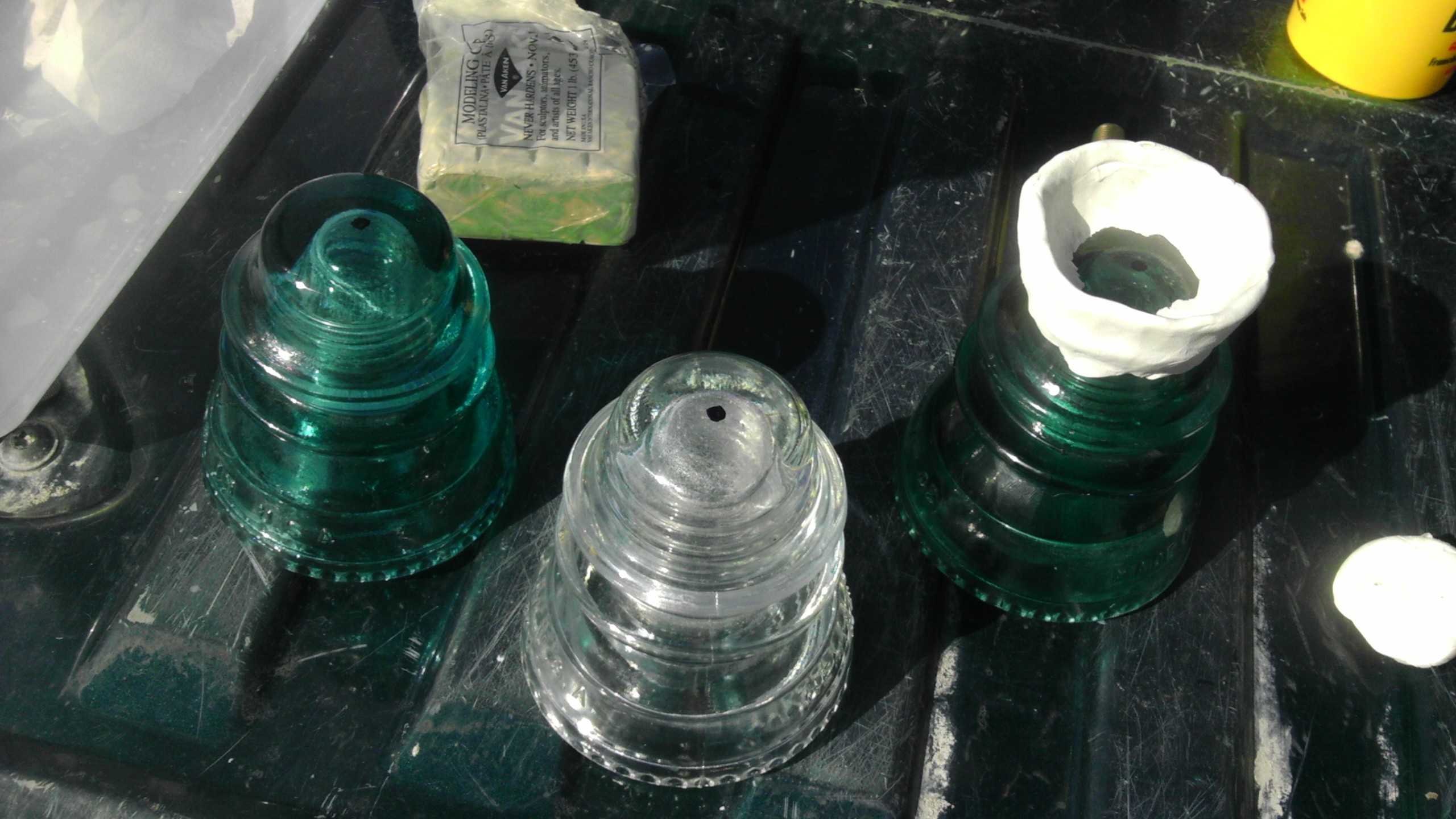 Picture of Drill Through the Glass Insulator