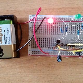 Simple Blinking LED Circuit