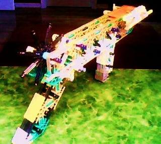 RS-5 Rubber Band K'nex Gun