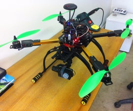 Build a HK X650F quadcopter for GoPro style video and photography