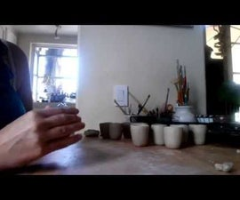 How to make a Sake cup out of Clay
