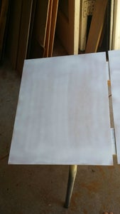 Paint the Backing Board