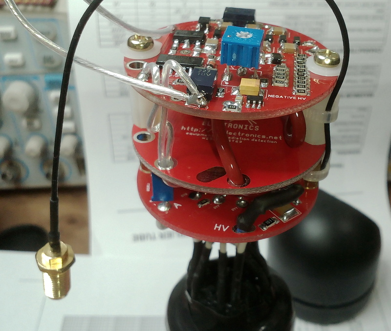 Picture of Making NaI(Tl) Detector