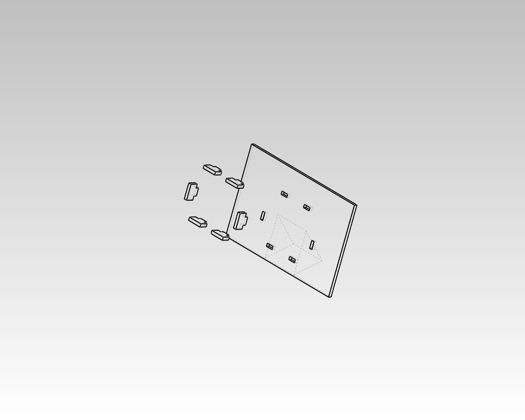 Picture of Making the Components Bracket