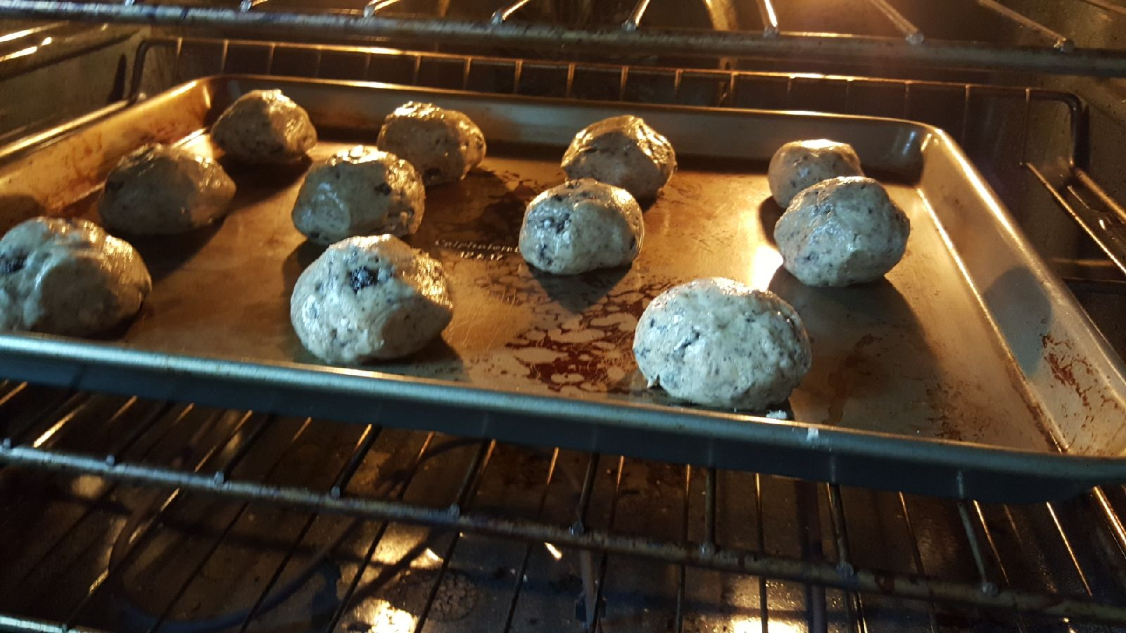 Picture of Putting It in the Oven