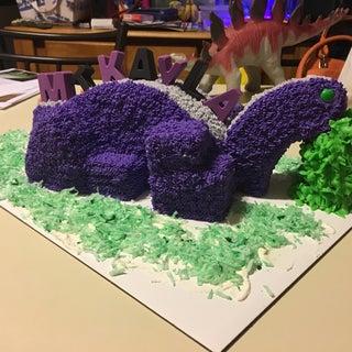 3d Dinosaur Birthday Cake