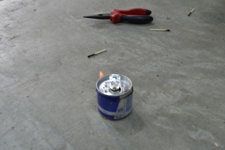 Como Hacer Mini Estufa Con Lata De Soda