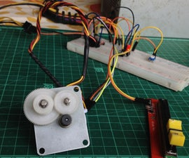 Stepper Motor Speed Control Without Microcontroller