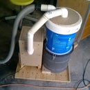 Cheap cyclone-based vacuum cleaner made from scratch