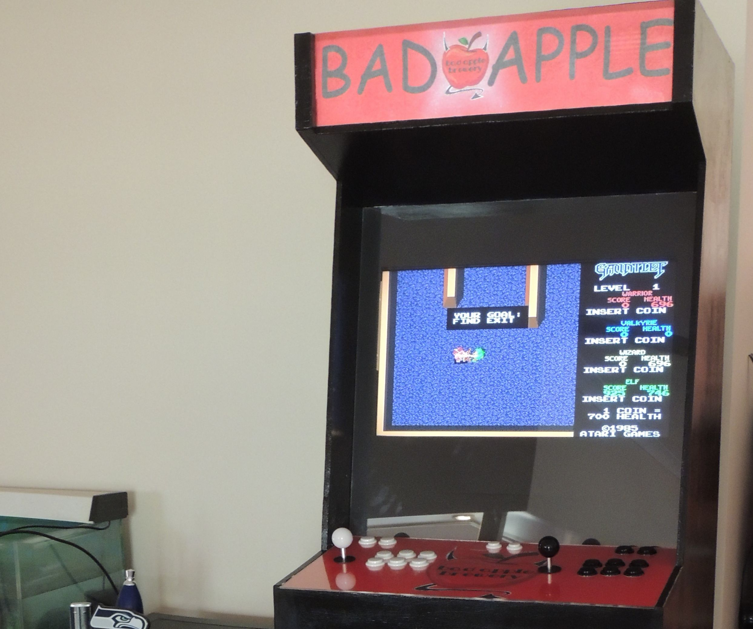 Full Size Arcade Cabinet Using Raspberry-Pi: 6 Steps (with