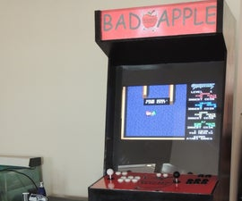 Full Size Arcade Cabinet Using Raspberry-Pi