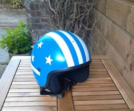 A Personalized Motorcycle Helmet