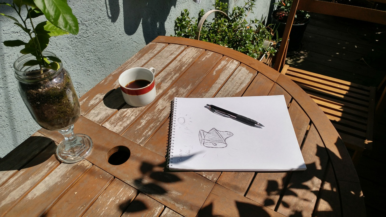 Picture of Step Two : Measures of Your System and Draw With a Pen
