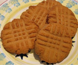 Really quick peanut butter cookies