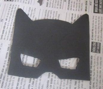 Cut the Batman Mask