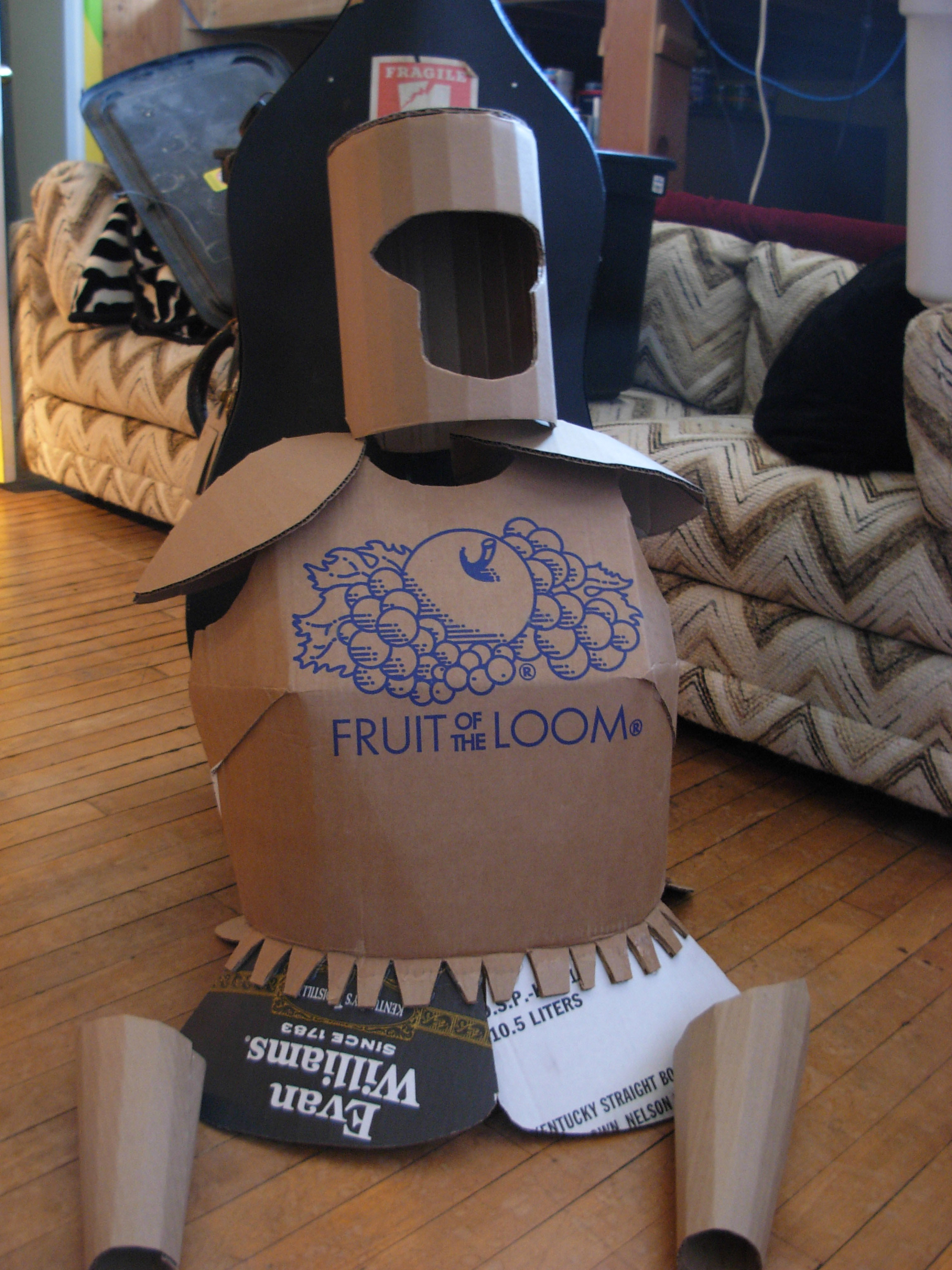 Picture of Cardboard Armor