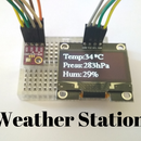 Room Weather Station Using Arduino & BME280