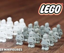 Cement and Plaster Lego Minifigures