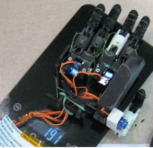 Picture of The Ultralight Bionic Hand - 191 Grams