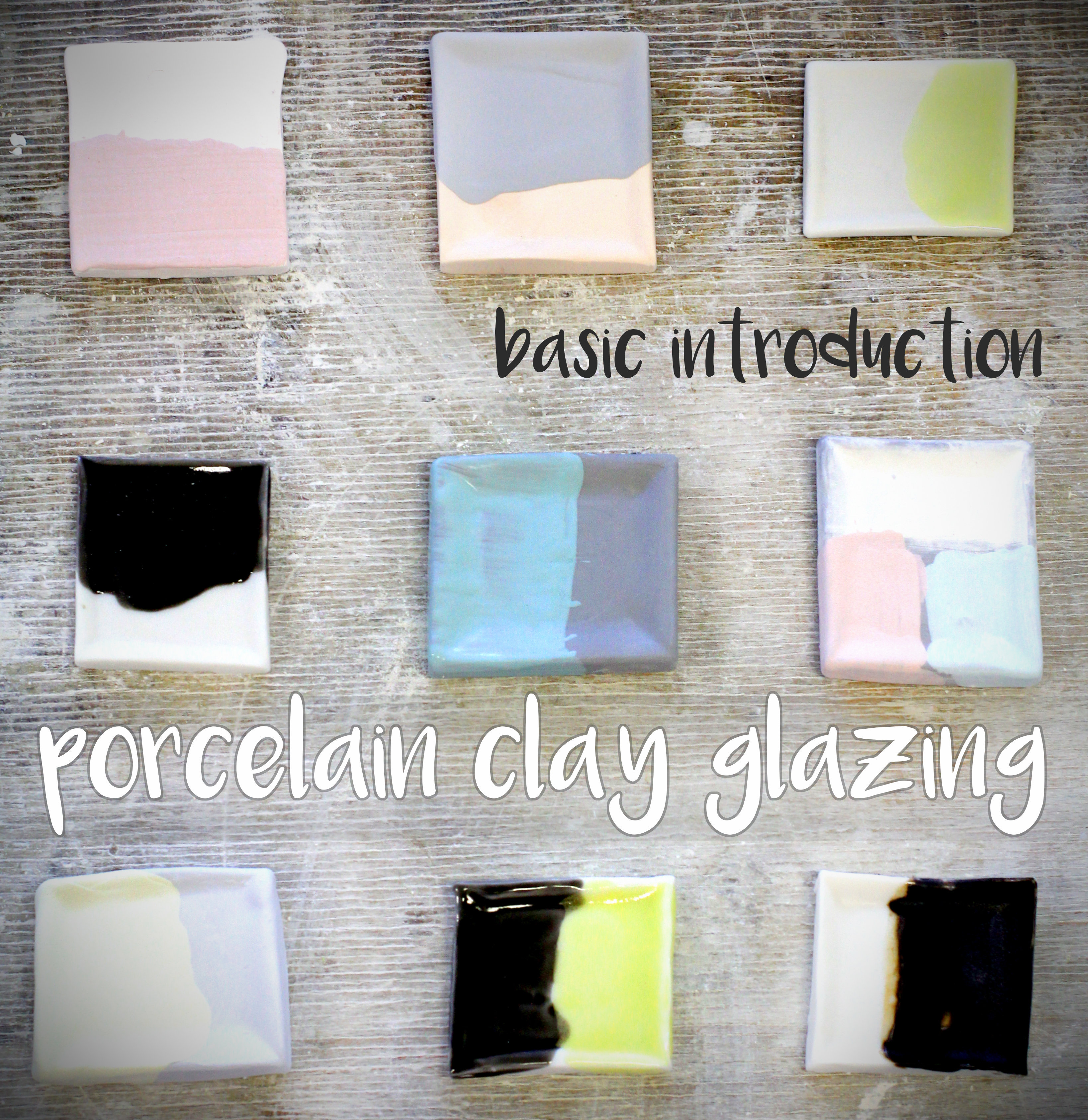 Picture of Porcelain Clay Glazing - Basic Introduction