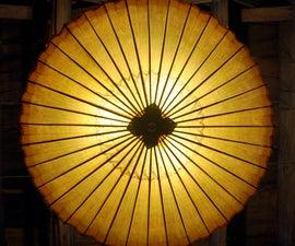 Hanging Umbrella Light