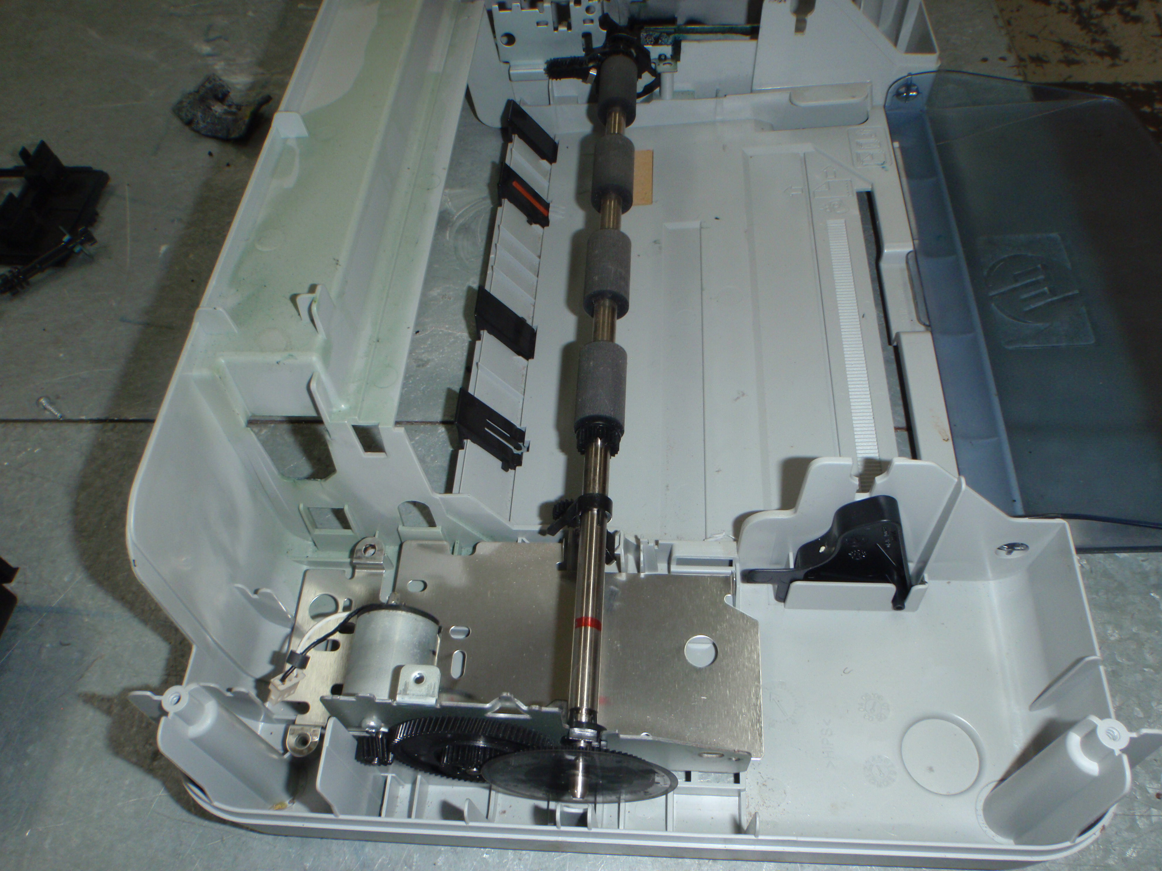 Picture of Refit the Motor and Rollers