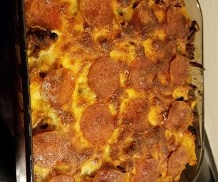 Pizza Casserole Made Easy