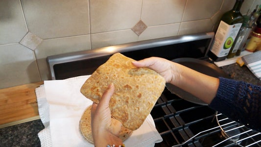 How to Make Square Roti Paratha