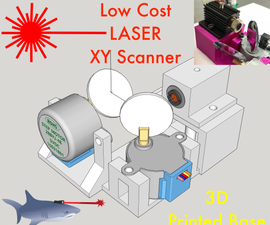 3D Printed Laser XY Scanner - Draw, Cut, Engrave, or Scan