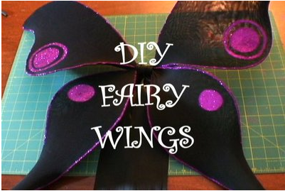 Picture of DIY Fairy Wings HOW-TO and BONUS Costume Essential