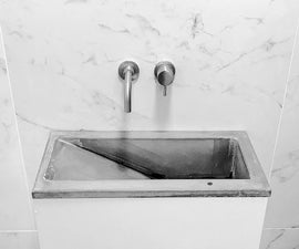 How to Build a GFRC Concrete Sink